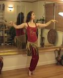 "PiperMethodTM Belly Dance Arm Positions ""Float"""