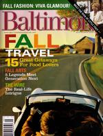 Cover of the September 2004 Baltimore Magazine in which Piper is featured