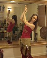PiperMethodTM Belly Dance Arm Postions: Delicate