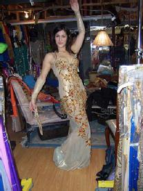 The Baltimore Daughters of Rhea Belly Dance Troupe Shopping at Shahrzad's Belly Dance Store