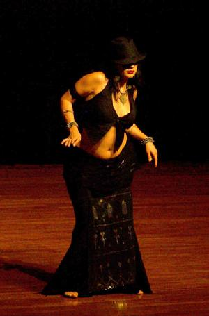 Lisa Zahiya's contemporary belly dance fusion at Belly Dance Magic 2007