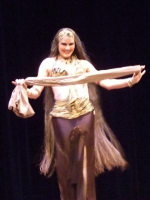 Yasmin's Classic Egyptian dancing delights the audience at Belly Dance Magic 2007 363