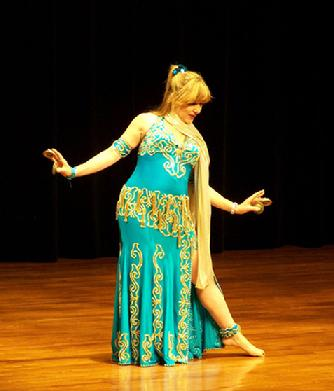 Artemis performs a traditional Turkish Romany dance at the Baltimore Museum of Art for Belly Dance Magic 2007 245