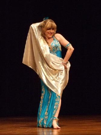 Artemis performs a classic Turkish Oriental dance at Belly Dance Magic 2007 332