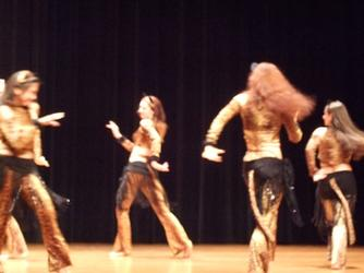 Dance Ensemble prowl to Piper's Stray Cat Strut Choreography 240