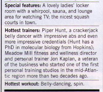 """Piper, a crackerjack belly dancer with impressive abs and even more impressive credentials...."""