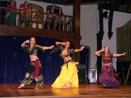 The Daughters of Rhea Dance Ensemble perform Piper's Rampi choreography at MayFaire 2006
