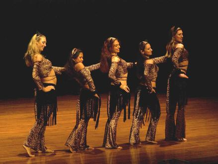 The Baltimore Daughters of Rhea Dance Ensemble perform Piper's Stray Cat Strut Choreography 2
