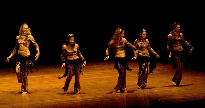The Baltimore Daughters of Rhea Dance Ensemble perform Piper's Stray Cat Strut Choreography 1