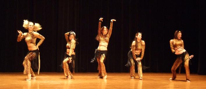 The Baltimore Daughters of Rhea perform Piper's Stray Cat choreography at Belly Dance Magic 2007